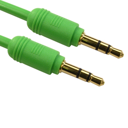 1.2m 3.5mm Stereo Cable - Green