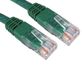 1m Cat6 Full Copper UTP 24awg RJ45 Ethernet Cable (Green)