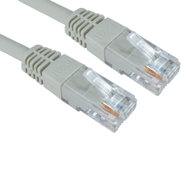 2m Cat6 Full Copper UTP 24awg RJ45 Ethernet Cable (Grey)