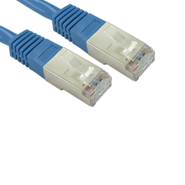 5m Cat5e Shielded Patch Cable - Blue