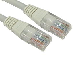 10m Cat5e LSZH Patch Cable - Grey