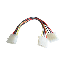 23CM 5 1/4 M-2 X 5 1/4 F INT MOLEX POWER SPLITTER B/Q 500