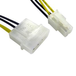 Molex to P4/64 Bit Power 4 Pin Square