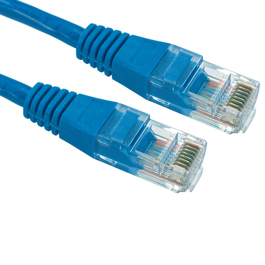 0.5m Cat5e Patch Cable - Blue