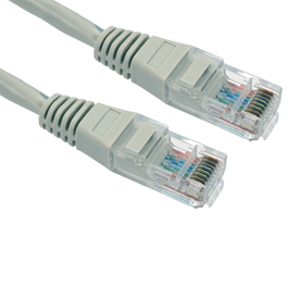 1.5m Cat5e Patch Cable - Grey