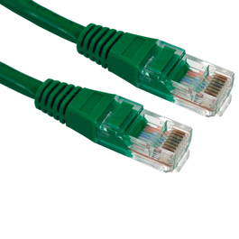 1m Cat5e Patch Cable - Green