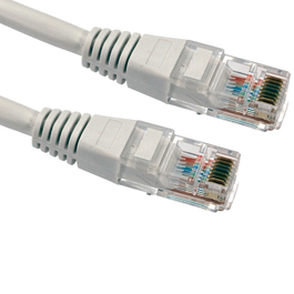 1m Cat5e Patch Cable - White