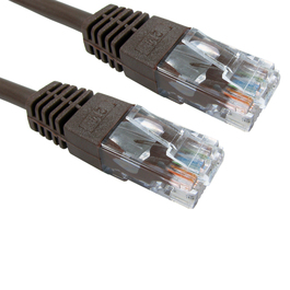 2m Cat5e Patch Cable - Brown