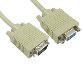10m SVGA Extension Cable - Beige
