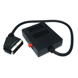 2 Way Switched SCART Splitter Box