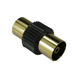 TV Cable Coupler - Black