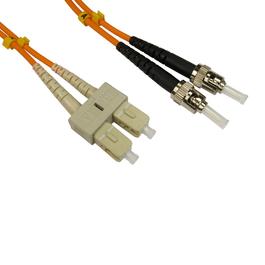 3m OM2 Fibre Optic Cable ST - SC