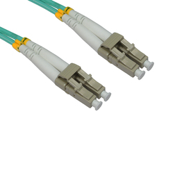 0.5m OM3 Fibre Optic Cable LC-LC