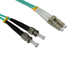 0.5m OM3 Fibre Optic Cable LC-ST
