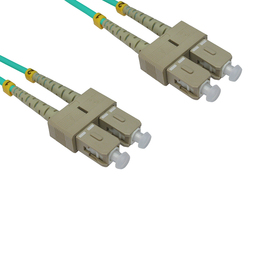 1m OM3 Fibre Optic Cable SC-SC