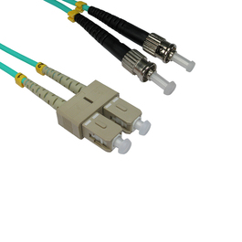 1m OM3 Fibre Optic Cable ST-SC