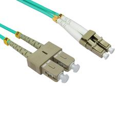 0.5m OM4 Fibre Optic Cable LC-SC