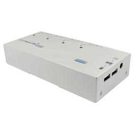 4 Port KVM Switch with Audio - SVGA & USB