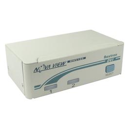 2 Port KVM Switch - DVI-D & PS/2