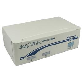 2 Port KVM Switch - DVI-D & USB