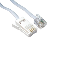 3m BT M - RJ11 M S/T Modem Cable (White)