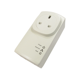 NEWLINK SINGLE 200MBPS PASS THROUGH HOMEPLUG - WHITE B/Q 20