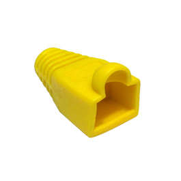 Yellow RJ45 Snagless Boot