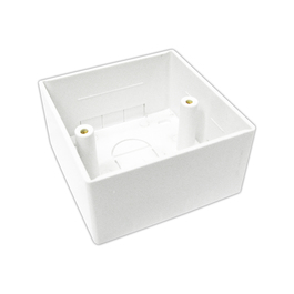 UK SINGLE BACK BOX -  86mm X 86mm X 45mm - B/Q 100