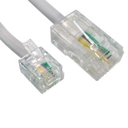 15m RJ11 to RJ45 Cable (White)