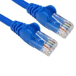 1.5m Cat6 Snagless LSOH LSZH CCA UTP 24awg RJ45 Ethernet Cable (Blue)