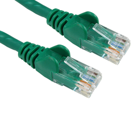 5m Cat6 Snagless LSOH LSZH CCA UTP 24awg RJ45 Ethernet Cable (Green)