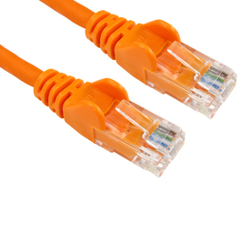 10m Cat6 Snagless LSOH LSZH CCA UTP 24awg RJ45 Ethernet Cable (Orange)