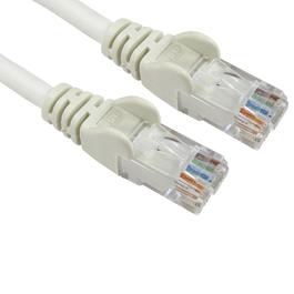 10m Cat6 Snagless LSOH LSZH CCA UTP 24awg RJ45 Ethernet Cable (White)