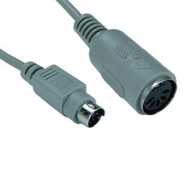 6 Pin Mini-DIN (M) to 5 Pin DIN (F) Keyboard Adapter