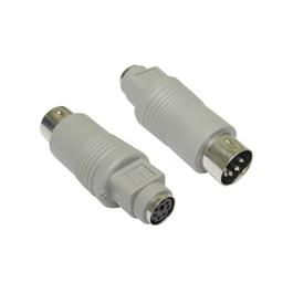 6 Pin Mini-DIN (F) to 5 Pin DIN (M) Keyboard Adapter