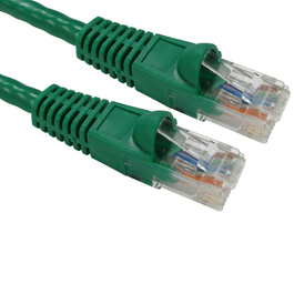 1m Snagless Cat6 Patch Cable - Green