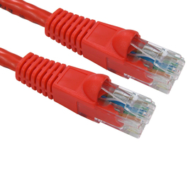 1m Snagless Cat6 Patch Cable - Red
