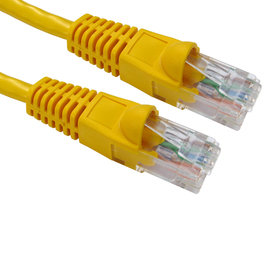1m Snagless Cat6 Patch Cable - Yellow