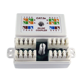 CAT5E KRONE Coupler (Black)