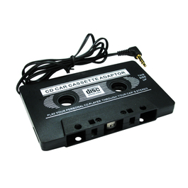3.5mm Jack to Cassette Adapter - Black
