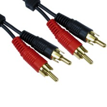 Twin RCA Phono Cables